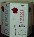 Red Rose - 6ml (.2oz) Roll-on Perfume Oil by Al-Rehab (Crown Perfumes) (Box of 6)