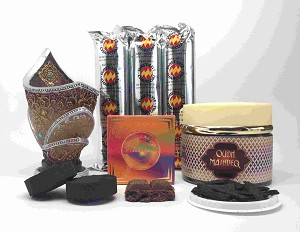 MASHREQ OUDH and MAAMUL BAKHOOR Incense Gift Set by Nabeel