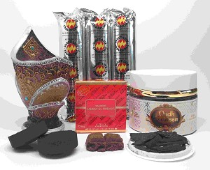 SALATEEN OUDH  and JANNATUL FIRDAUS BAKHOOR Incense Gift Set