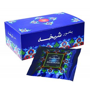 Bukhoor SHEIKHA Incense Tablet from Haramain