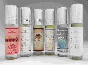 6 (Six) Al-Rehab 6ml Perfume Oils Best Sellers Set # 9: Randa, Tooty Musk, Malikat Al Sabah, Sondos, Cobra and U2 Man