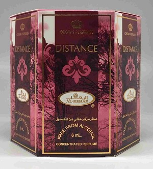 Distance- 6ml (.2oz) Roll-on Perfume Oil by Al-Rehab (Box of 6)