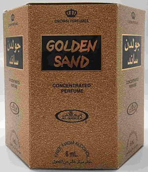 Golden Sand - 6ml (.2oz) Roll-on Perfume Oil by Al-Rehab (Box of 6)