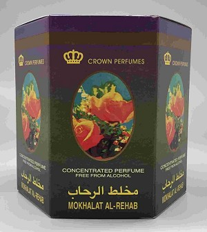 Mokhalat Al-Rehab - 6ml (.2oz) Roll-on Perfume Oil by Al-Rehab (Box of 6)