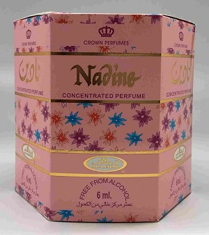 Nadine - 6ml (.2oz) Roll-on Perfume Oil by Al-Rehab (Box of 6)
