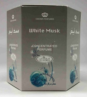 White Musk - 6ml (.2oz) Roll-on Perfume Oil by Al-Rehab (Box of 6)
