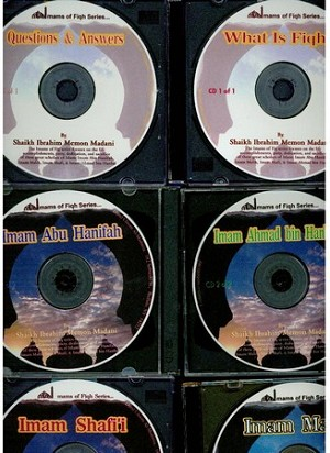Lives of the Imams of Fiqh - 8 CD Set