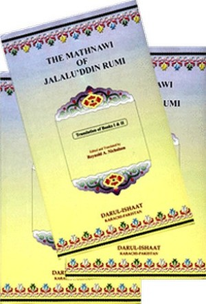 The Mathnawi of Jalau'ddin Rumi (5 volumes)