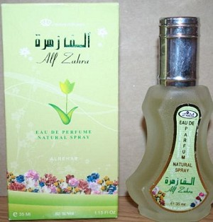 Alf Zahra - Al-Rehab Eau De Natural Perfume Spray- 35 ml (1.15 fl. oz)