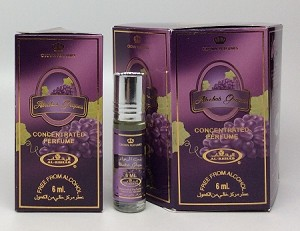 Al-Rehab Grapes - 6ml (.2oz) Roll-on Perfume Oil by Al-Rehab (Box of 6)