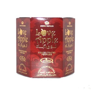 Love Apple - 6ml (.2oz) Roll-on Perfume Oil by Al-Rehab (Box of 6)