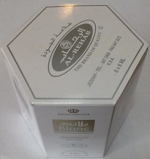 Blanc - 6ml (.2 oz) Roll-on Perfume Oil by Al-Rehab (Box of 6)