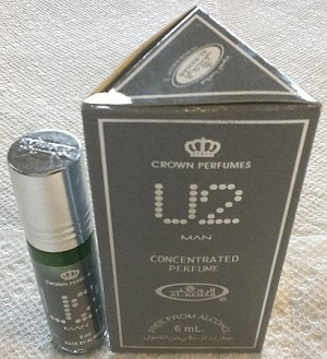 U2 Man - 6ml (.2 oz) Perfume Oil  by Al-Rehab