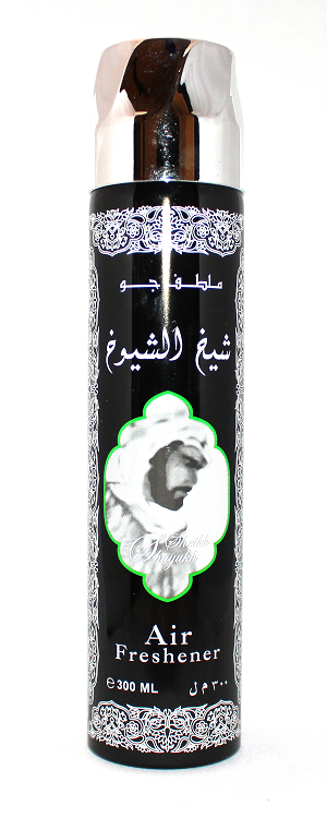 Sheikh Al Shuyoukh (Black) - Air Freshener by Ard Al Zaafaran (300ml/194 g)