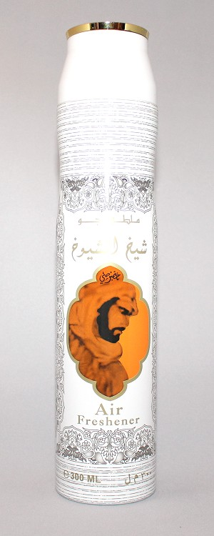 Sheikh Al Shuyoukh Khusasi (white) - Air Freshener by Lattafa (300ml/194 g)