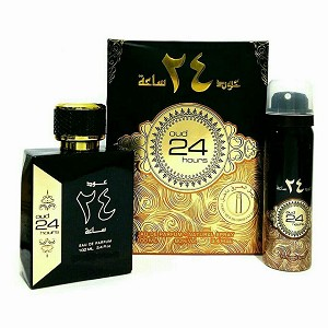 Oud 24 Hours - Eau De Parfum - 100ml (3.4 Fl. oz) by Ard Al Zaafaran