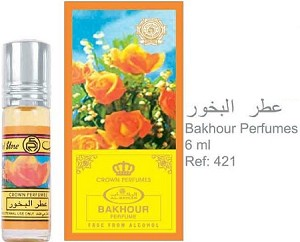 Bakhour - 6ml (.2 oz) Perfume Oil  by Al-Rehab (Crown Perfumes)