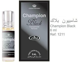 Champion Black - 6ml (.2 oz) Perfume Oil  by Al-Rehab (Crown Perfumes)