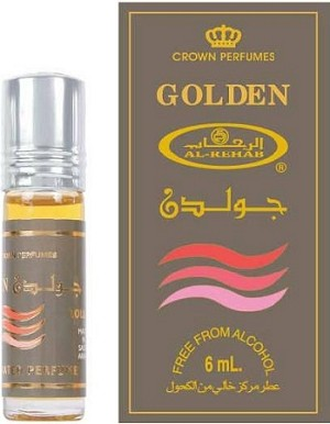 Golden - 6ml (.2 oz) Perfume Oil  by Al-Rehab
