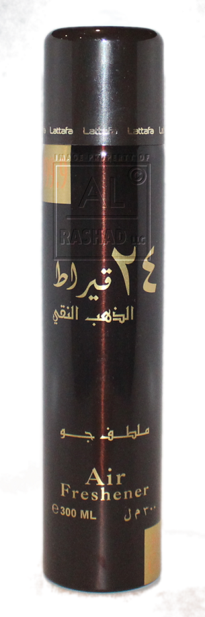 24 Carat Pure Gold - Air Freshener by Lattafa (300ml/194g)