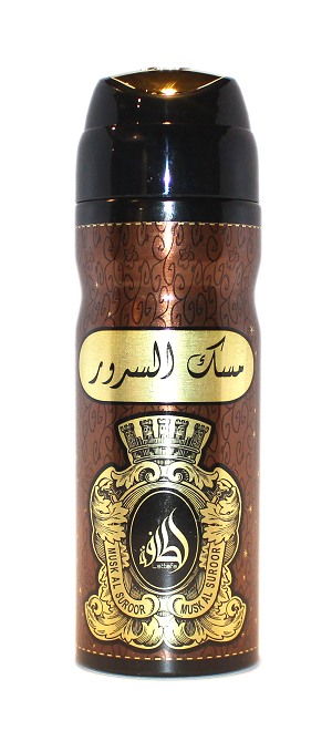 Musk Al Suroor - Deodorant Perfumed Spray (200 ml/6.67 fl.oz) by Lattafa