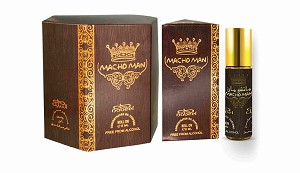 Macho Man - Box 6 x 6ml Roll-on Perfume Oil by Nabeel