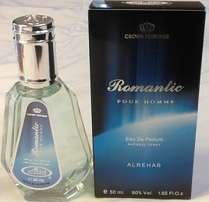 Romantic - Al-Rehab Natural Perfume Spray 50 ml (1.65 fl. oz)