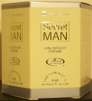 Secret Man - 6ml (.2oz) Roll-on Perfume Oil by Al-Rehab (Box of 6)