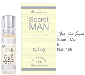 Secret Man - 6ml (.2 oz) Perfume Oil  by Al-Rehab (Crown Perfumes)