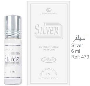 Silver - 6ml (.2 oz) Perfume Oil  by Al-Rehab