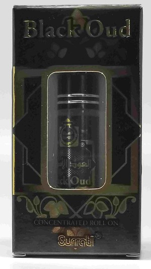 Black Oud - 6ml Roll-on  Perfume Oil by Surrati