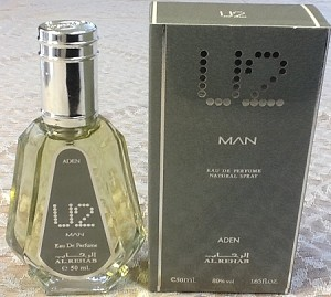 U2 MAN - Al-Rehab Natural Perfume Spray- 50 ml (1.65 fl. oz)